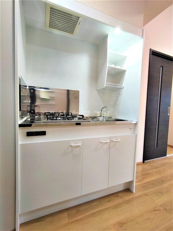 アベニールS 202号室のキッチン