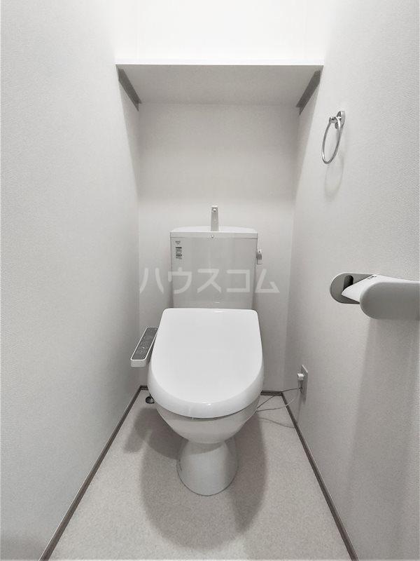 アベニールS 202号室のトイレ