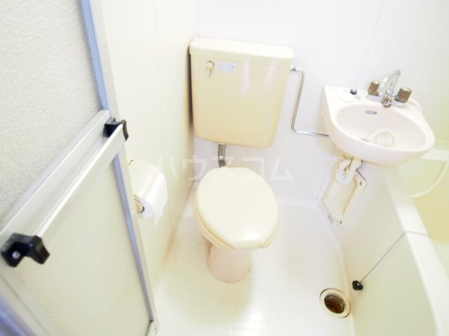 HIT 201号室のトイレ