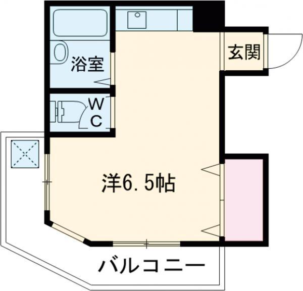 ハイツシオハタ・302号室の間取り