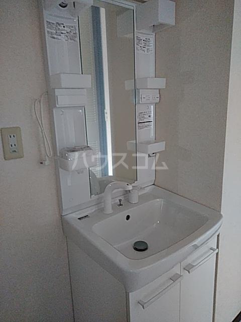 サンビレッジTANAKA C 202号室の洗面所