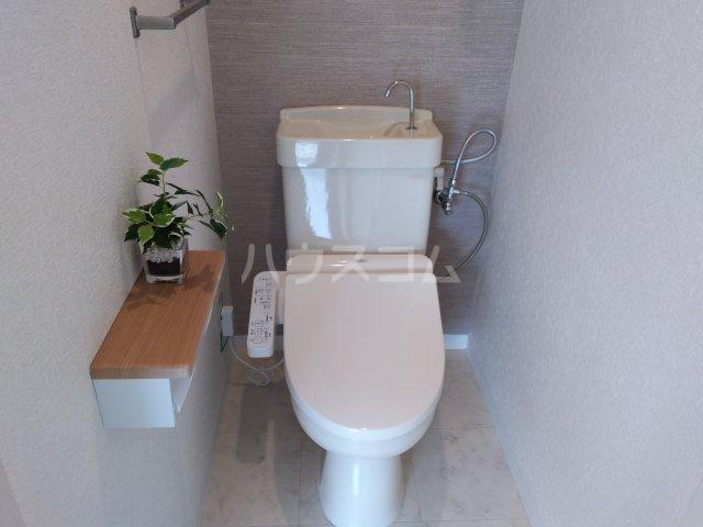 プレステージ島村 403号室のトイレ