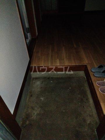 筑波荘 202号室の玄関