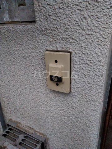 筑波荘 202号室のセキュリティ