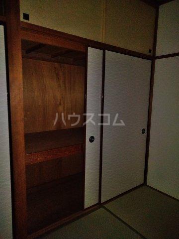 筑波荘 202号室の収納