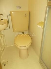 エスポワール元郷 0102号室のトイレ