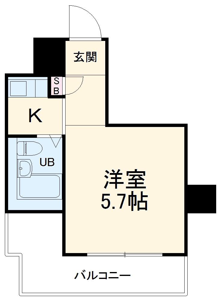 ライオンズマンション西川口第7 302号室の間取り