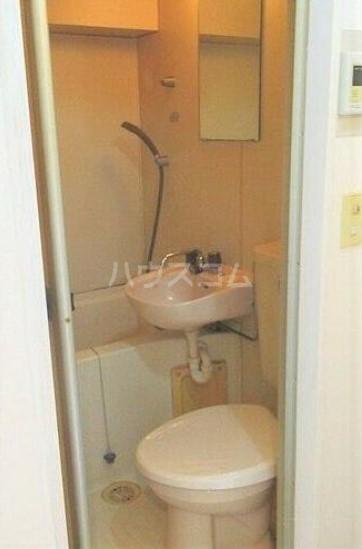 ライオンズマンション西川口第7 302号室のトイレ