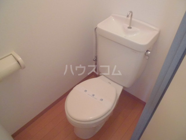 ハイム北の森 202号室のトイレ