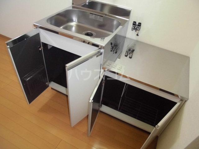 ハイム北の森 202号室のキッチン
