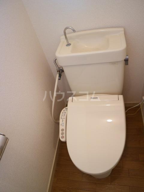 大木コーポ 206号室のトイレ