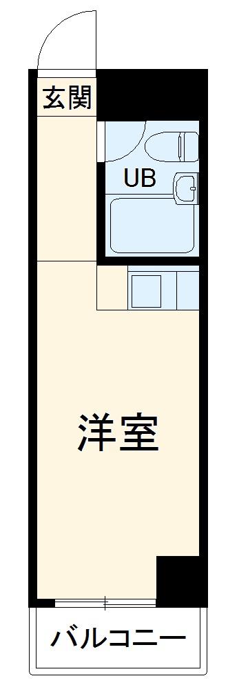スカイコート西川口第3 701号室の間取り