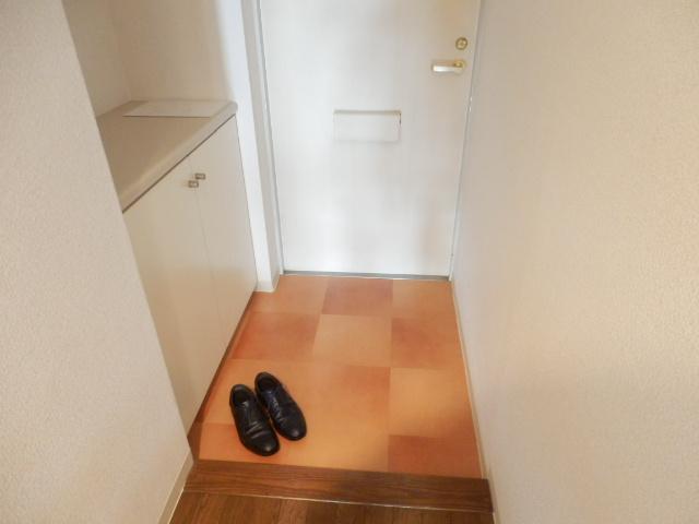グレイスコート多摩川 202号室の玄関