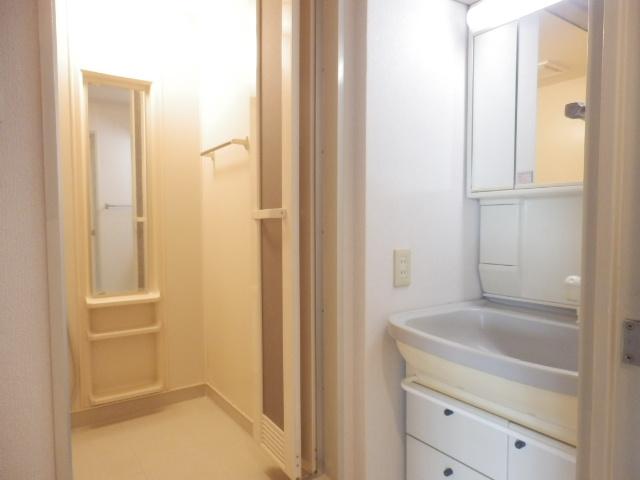 グレイスコート多摩川 202号室の洗面所