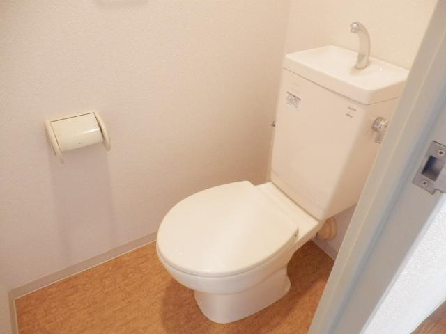 グレイスコート多摩川 202号室のトイレ