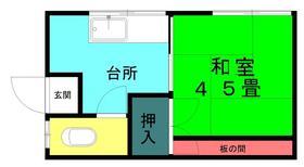 小島荘・201号室の間取り