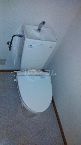 ベイグランド・サワノ B-202号室のトイレ