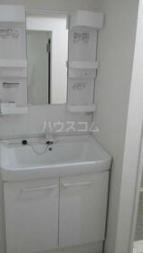 アビタシオンクレール 0107号室の洗面所