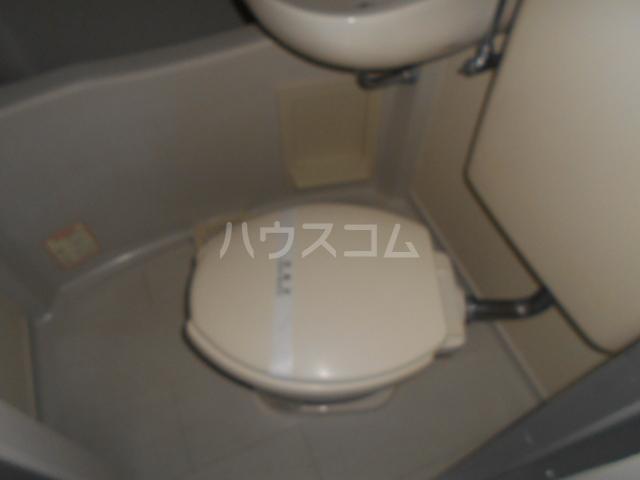 アップルコート元住吉 202号室のトイレ