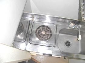 大口レジデンス 0203号室のキッチン