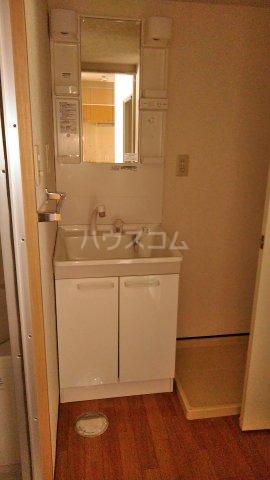 ベイフロント・サワノ 201号室の洗面所
