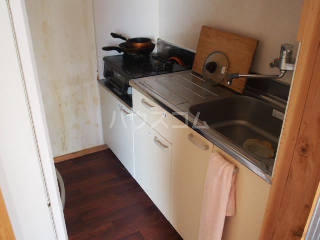 ウッドハウス鶴見 101号室のキッチン