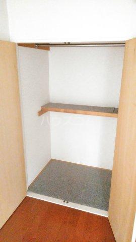 レオパレス矢向 207号室の収納