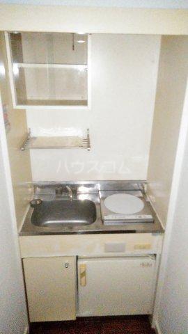 レオパレス矢向 207号室のキッチン
