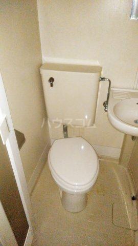 レオパレス矢向 207号室のトイレ
