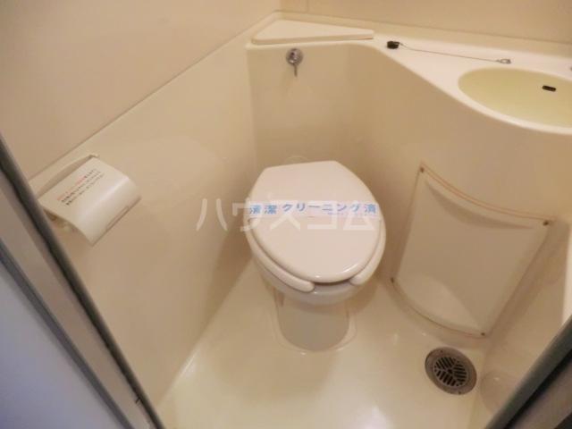 ハイタウン池上NO.1 404号室のトイレ