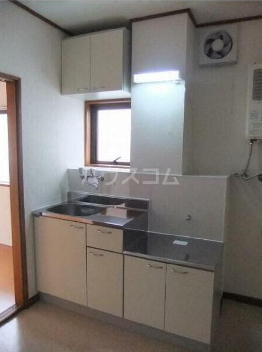 幸伸リバーシティ 202号室のキッチン