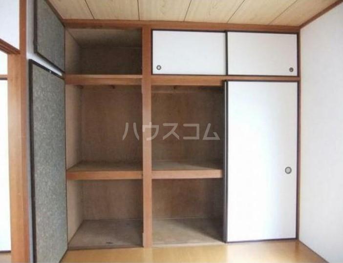 幸伸リバーシティ 202号室の収納