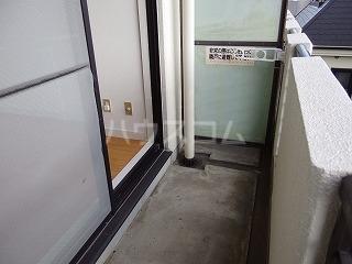 アドバンス一号館 306号室のバルコニー