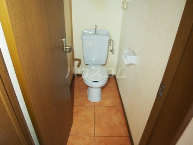 イーストビレッジ 202号室のトイレ