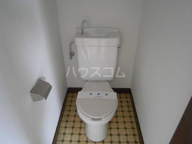 小峰第5ハイツ 203号室のトイレ