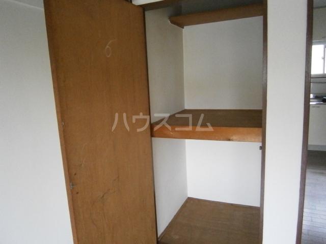 小峰第5ハイツ 203号室の収納