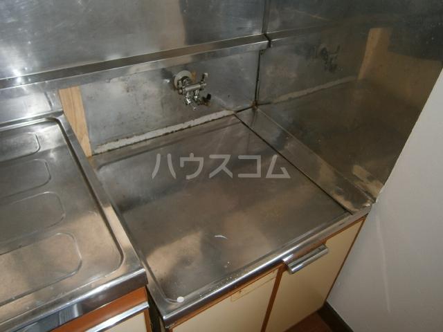 コーポ大竹 201号室のキッチン