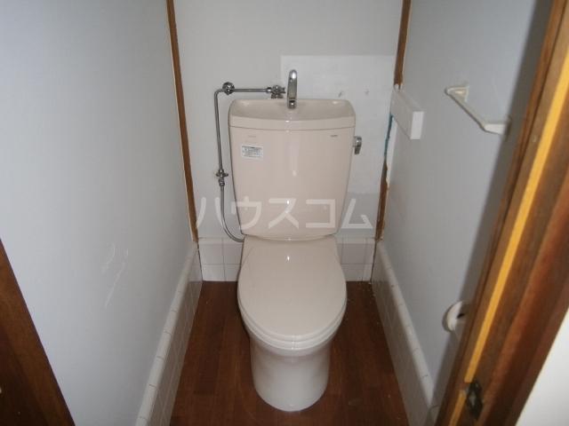コーポ大竹 201号室のトイレ