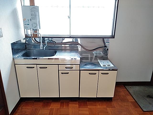 ハイムカルミア 202号室のキッチン