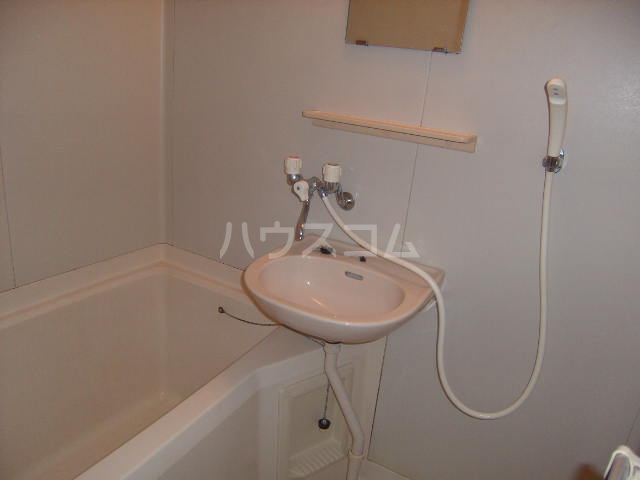 メゾン森の木 B101号室の洗面所