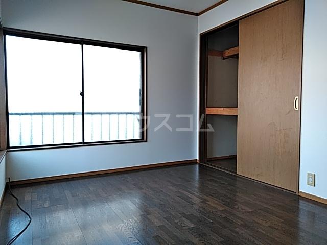 東友アパート 6号室の玄関