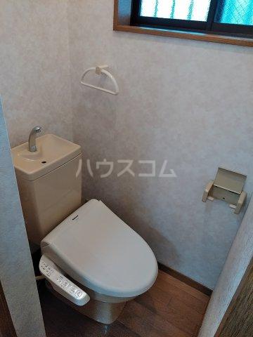 ハイツバーディ 101号室のトイレ