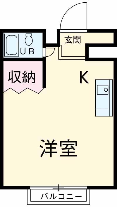 コーポタカハシ・201号室の間取り