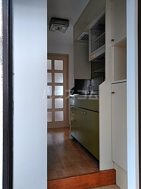 ハイタウン綱島 406号室の玄関