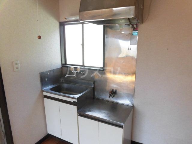 アムール東大和 201号室のキッチン