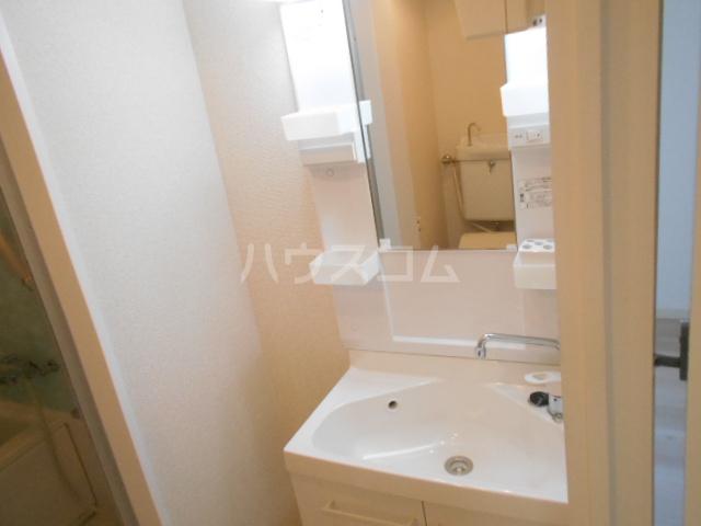 新横浜グリーンテラス 206号室の洗面所