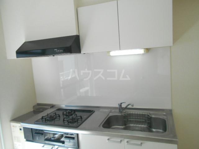 新横浜グリーンテラス 206号室のキッチン