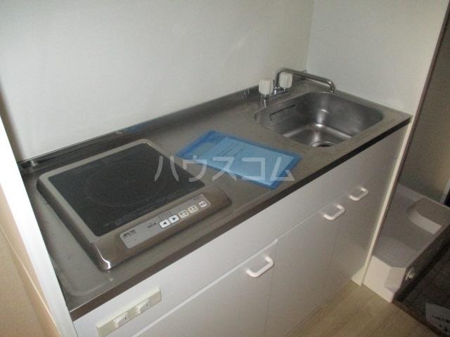 ヴィラウイステリア 105号室のキッチン