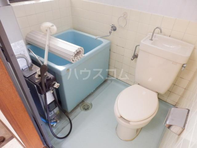 こぶし荘 201号室の洗面所