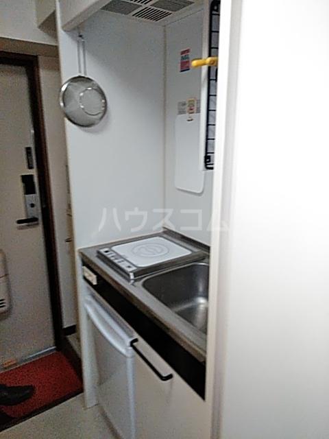 ボーテ日吉シェモア 1042号室のキッチン